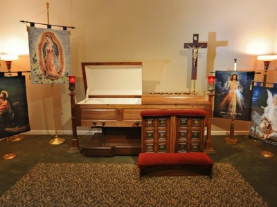 Catholic Display Items for Funerals