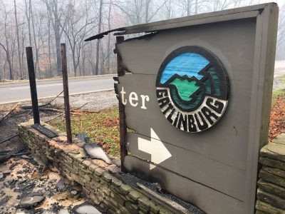 Gatlinburg, East Tennessee in Mourning Following Sevier County Wildfires